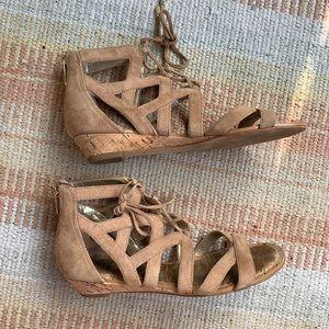 Sam Edelman 'Dawson' Ghillie Wedge Sandal
